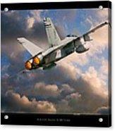 Fa-18d Hornet Acrylic Print