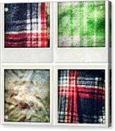 Fabrics Acrylic Print