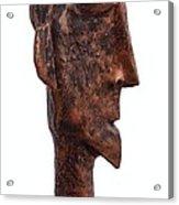 Fabulas Bronze Idol  Acrylic Print by Mark M  Mellon