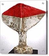 Fabulas Red Humanum  Acrylic Print