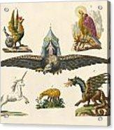 Fabulous Animals Acrylic Print