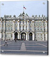 Facade Of A Museum, State Hermitage Acrylic Print