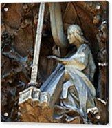 Facade Of Sagrada Familia Acrylic Print