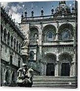 Facade Of The Silverware In Santiago De Compostela Acrylic Print