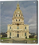 Facade Of The St-louis-des-invalides Acrylic Print