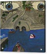 Face Cave Acrylic Print