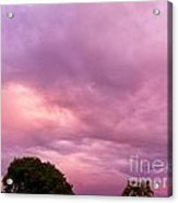 Face In The Clouds 1 Acrylic Print