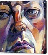 Face Of A Man Acrylic Print