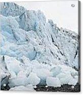 Face Of Bryn Mawr Glacier Acrylic Print