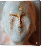 Face Of Buda  Acrylic Print