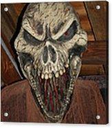 Face Of Death Acrylic Print