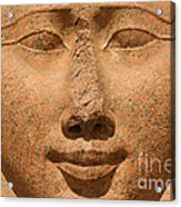 Face Of Hathor Acrylic Print
