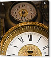 Face Of Time Acrylic Print