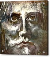 Face Series 1 Acrylic Print by Michelle Dommer