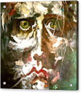 Face Series 2 Acrylic Print by Michelle Dommer