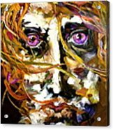 Face Series 4 Knowing Acrylic Print