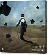 Faceless Acrylic Print by Juli Scalzi