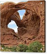 Faces Of Nature Acrylic Print
