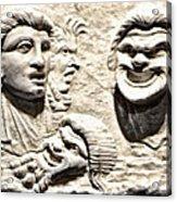 Faces Of Pompeii Acrylic Print
