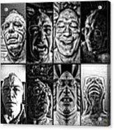 Faces Acrylic Print