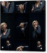 Facial Expression Acrylic Print by Ralf Kaiser