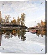 Factory In Helsinki Acrylic Print