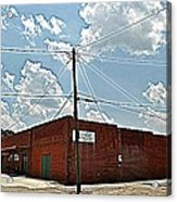 Factory Store Acrylic Print by Beverly Hammond