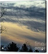 Fade To Black Acrylic Print