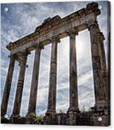 Faded Glory Of Rome Acrylic Print