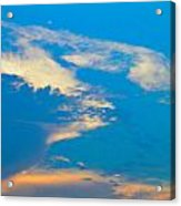 Fading Clouds Acrylic Print