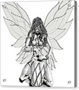 Faerie Drummer Acrylic Print
