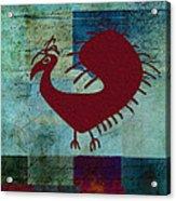 Fafa Bird - 01c01bcr Acrylic Print