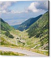 Fagarasi Mountains Acrylic Print