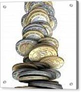 Failing Economies Acrylic Print by Allan Swart