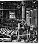 Fairbanks Morse Diesel Acrylic Print