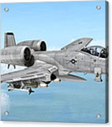 Fairchild A-10 Thunderbolt Acrylic Print
