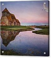 Fairfield Church Acrylic Print