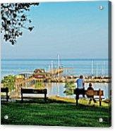 Fairhope Alabama Pier Acrylic Print