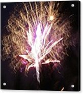 Fairies In The Fireworks I Acrylic Print by Jacqueline Russell