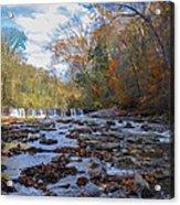 Fairmount Park - Wissahickon Creek In Autumn Acrylic Print