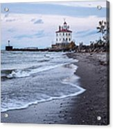 Fairport Harbor Breakwater Lighthouse Acrylic Print