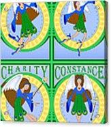 Fairy Angels Acrylic Print
