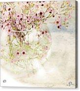 Fairy Bouquet Acrylic Print
