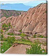 Fairy Chimneys In The Making In Cappadocia-turkey Acrylic Print