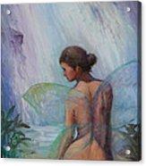 Fairy  Enchanted  Acrylic Print by Gwen Carroll