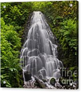 Fairy Falls In Spring Acrylic Print