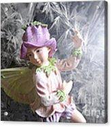 Fairy Hiding From The Light Acrylic Print