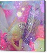 Fairy In Fairy Dust Acrylic Print