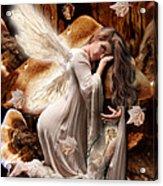 Fairy Of The Key Acrylic Print