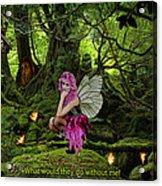 Fairy Princess Acrylic Print